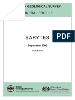 Comm Profile Baryte