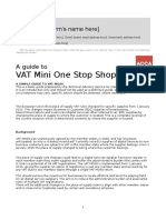 Guide to VAT MOSS Guide Revised
