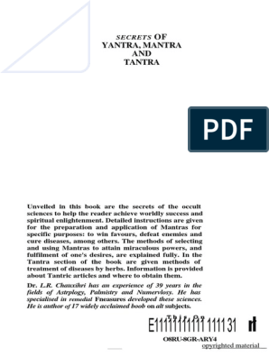 Secrets-of-mantra-tantra-and-yantra pdf | Kundalini | Mantra