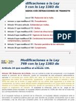 Presentacion Modificacion Ley 1383