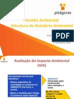 Aula 08 - Unidade 2 Encontro 4 -  Estrutura do relatório ambiental.pdf