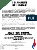 Tract Migrants Dans La Commune Decazeville