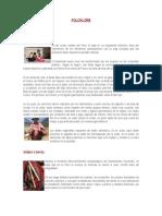 Folclore en El Perú