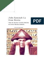 John Symonds La Gran Bestia