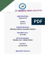 Actividad i Español II
