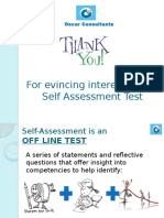 Self Assessment Ppt