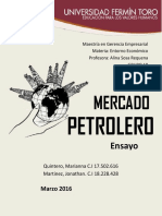 Mercado Petrolero