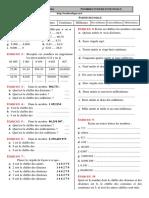 Chap 1 - Exercices 02 - Ecriture Et Lecture de Nombres Décimaux - CORRIGE