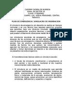 Planeacion Del Simulacro