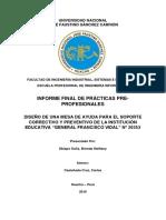 Analisis y diseño de un sistema de mesa de ayuda