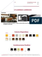 Presentacion de Proyecto Por Linea - FLAMINGO LAMINADO