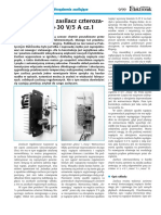 Zasilacz Laboratoryjny Czterozaciskowy 0-30V 5A