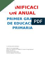 PLANIFICACIÓN ANUAL DEL SEGUNDO GRADO 2016  ORIGINAL.docx