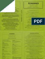 Echanges N°152 – Été 2015