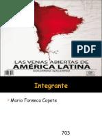 Libro Venas Abiertas de America Latina