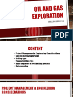 O&G Exploration Drilling Process