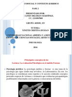 Acción Psicosocial y Contexto Jurídico Actividad Individual Fase 2 Fundamento Teórico o Metodológico