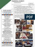 Columbiettes, October 2016 Newsletter