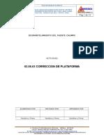 02.06.03 Correccion Platafrma