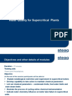 Water Quality for Supercritical Units Steag Format