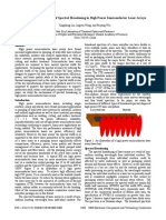 Study of the Mechanisms of Spectral Broadening in High Power Semiconductor Laser Arrays