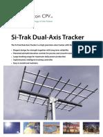 JN 1333 Si Trak Dual Axis Tracker 03-06-08