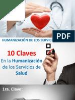 10 Claves Para Humanización de La Salud