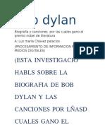 biografía de bob dylan y juan manuel santos