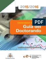 Guía Del Doctorando 2015-2016_esp