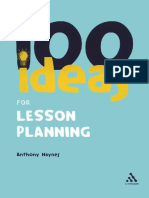 [Anthony Haynes 100 Ideas for Lesson Planning Co B