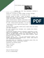 Biografia de  Fernando  pessoa.odt