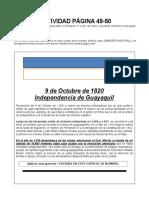 Actividad Página 49-50