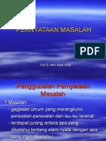 PERNYATAAN MASALAH