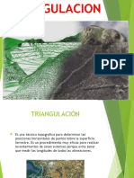 TRIANGULACION  PPT