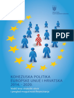 Kohezijska Politika EU i Hrvatska 2014. 2020.