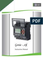 Genie Nx Instruction Manual Gic