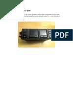 Audi AC Control Unit