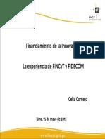 3. Experiencia Fincyt Fidecom Celia Cornejo