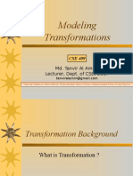 Modeling Transformation