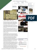 Graffitis _ Ce Que Disent Les Murs d'Alger - Actualité - El Watan