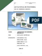 Ventilador centrigugo - Informe