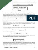III BIM - 4to. Año - FÍS - Guía 4 - Principio de Conservació.doc