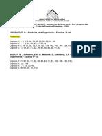 1a Lista de Exercícios Propostos Mecanica Geral