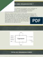 Diapositivas Teoria de La Organizacion