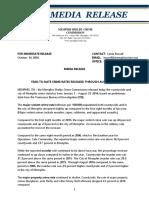 Memphis Crime Stats Press Release