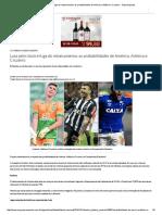 Luta Pelo Título e Fuga Do Rebaixamento_ as Probabilidades de América, Atlético e Cruzeiro - Superesportes