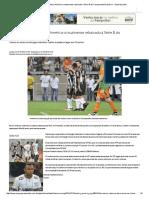 Derrota No Clássico Deixa América Virtualmente Rebaixado à Série B Do Campeonato Brasileiro - Superesportes