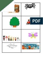 Vocabulario Coreano Tarjetas