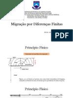 Migração Por Diferenças Finitas