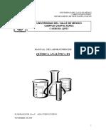 Química Analítica III
